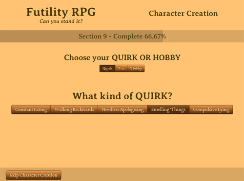 Futility RPG. Hilarious to plan & create. Not so fun to play.